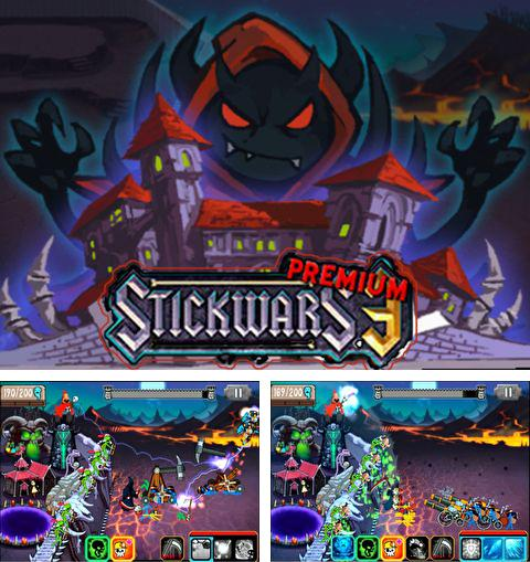 In addition to the game Flop rocket for iPhone, iPad or iPod, you can also download Stick wars 3: Premium for free.