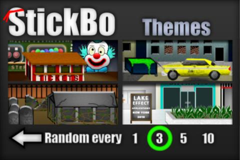 Screenshots of the Stickbo zombies game for iPhone, iPad or iPod.