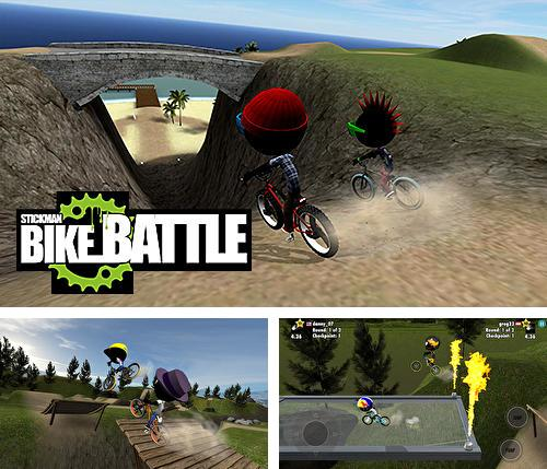 In addition to the game Trials frontier for iPhone, iPad or iPod, you can also download Stickman bike battle for free.
