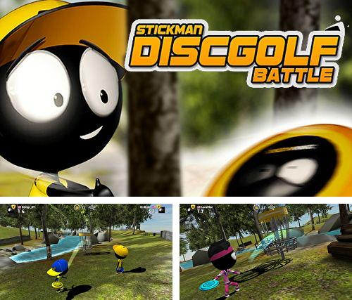 Stickman disc golf battle