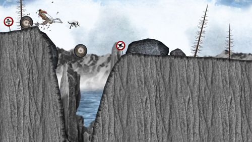 Capturas de pantalla del juego Stickman downhill: Monster truck para iPhone, iPad o iPod.