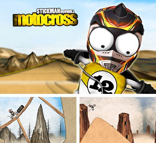 In addition to the game Mechcom 2 for iPhone, iPad or iPod, you can also download Stickman downhill motocross for free.