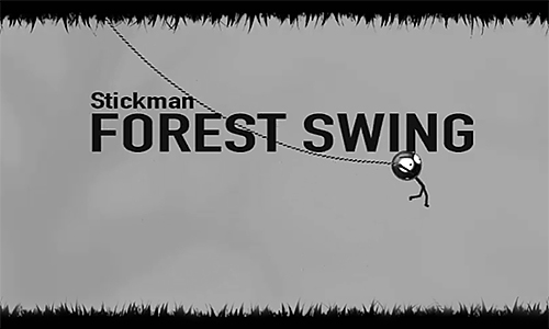 Stickman: Forest swing