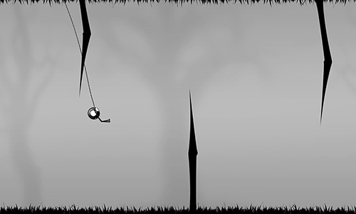 Free Stickman: Forest swing download for iPhone, iPad and iPod.