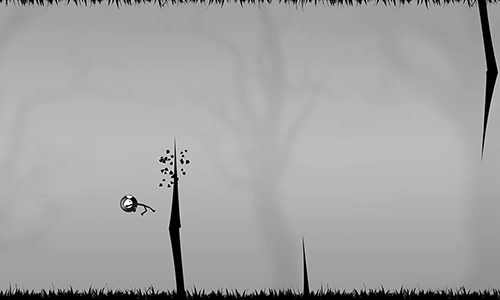 Screenshots of the Stickman: Forest swing game for iPhone, iPad or iPod.