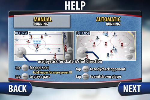 Download Stickman: Ice hockey iPhone free game.