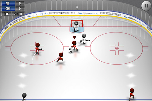 Free Stickman: Ice hockey download for iPhone, iPad and iPod.