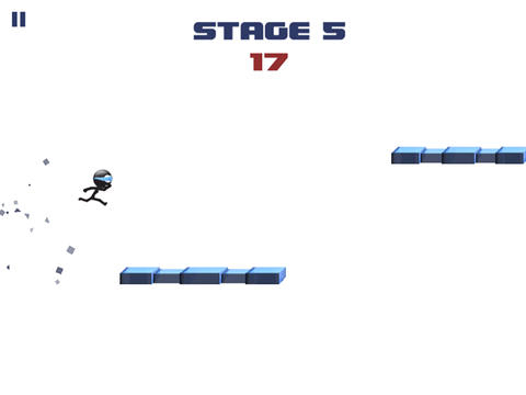 Descarga gratuita del juego Stickman: Carrera imposible para iPhone.