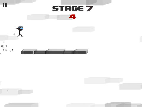 Capturas de pantalla del juego Stickman: Impossible run para iPhone, iPad o iPod.