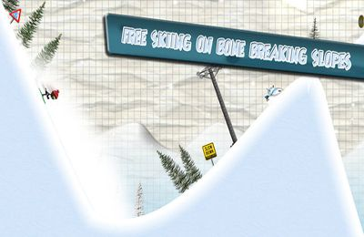 Descarga gratuita de Stickman Ski Racer para iPhone, iPad y iPod.