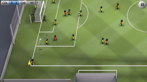 Descarga gratuita de Stickman Soccer para iPhone, iPad y iPod.