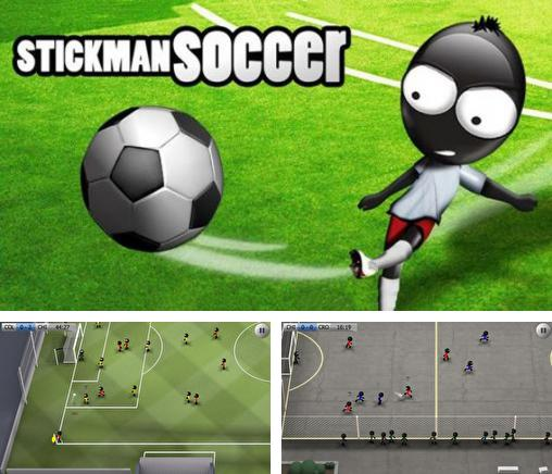In addition to the game Jelly mania for iPhone, iPad or iPod, you can also download Stickman Soccer for free.