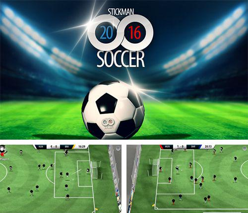 In addition to the game The rhythm of fighters for iPhone, iPad or iPod, you can also download Stickman soccer 2016 for free.