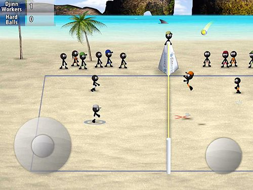 Kostenloses iPhone-Game Stickman Volleyball herunterladen.