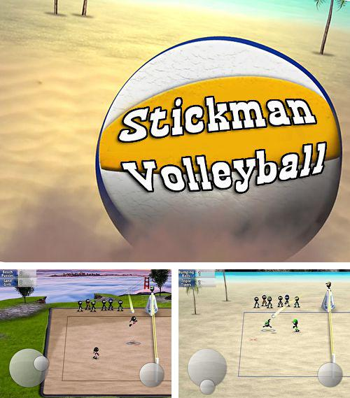 Download Stickman volleyball iPhone free game.