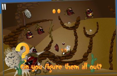Screenshots of the Stingy Bees game for iPhone, iPad or iPod.