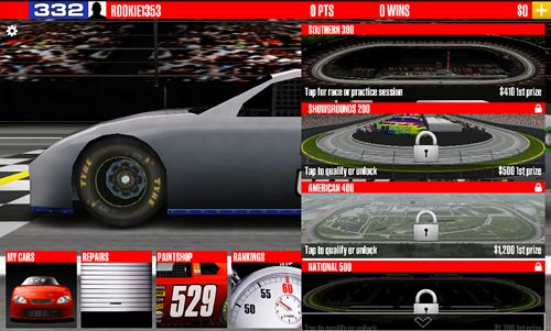 Скачать Stock car racing на iPhone бесплатно