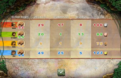Screenshots vom Spiel Stone Age: The Board Game für iPhone, iPad oder iPod.