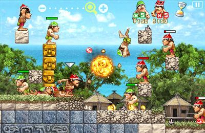 Download Stone Wars iPhone free game.