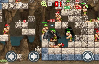 Capturas de pantalla del juego Stone Wars para iPhone, iPad o iPod.