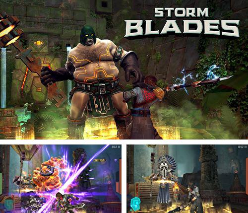 In addition to the game Girl vs. Zombies for iPhone, iPad or iPod, you can also download Storm blades for free.