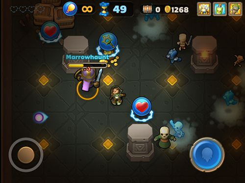 Screenshots of the Storm casters game for iPhone, iPad or iPod.