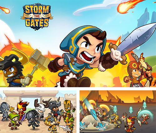 In addition to the game Heroki for iPhone, iPad or iPod, you can also download Storm the gates for free.