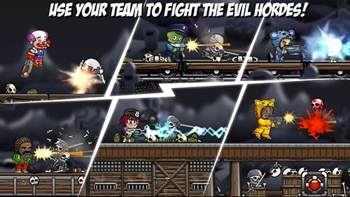 Capturas de pantalla del juego Storm the train para iPhone, iPad o iPod.