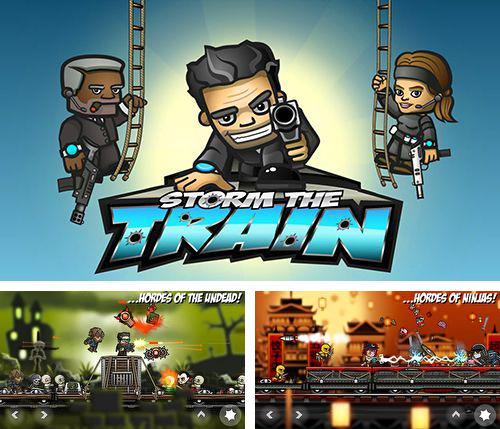 In addition to the game Mad Skills Motocross for iPhone, iPad or iPod, you can also download Storm the train for free.