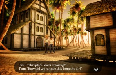 Screenshots vom Spiel Stranded: Escape White Sands für iPhone, iPad oder iPod.