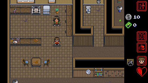 Écrans du jeu Stranger things: The game pour iPhone, iPad ou iPod.