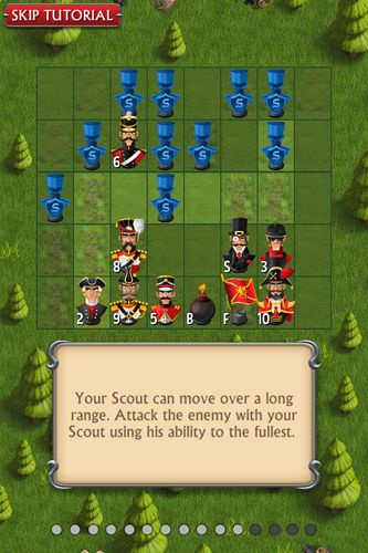 Free Stratego: Single player download for iPhone, iPad and iPod.