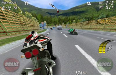 Screenshots do jogo Streetbike. Full blast para iPhone, iPad ou iPod.