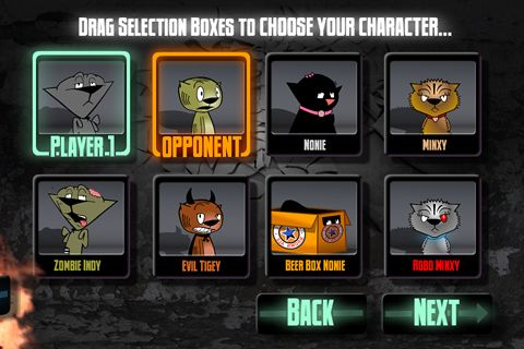 Download Tekken Card Tournament iPhone free game.