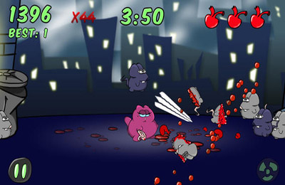 Screenshots of the Street Cats game for iPhone, iPad or iPod.