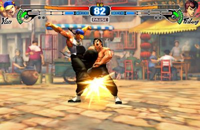 Download Street Fighter 4 iPhone free game.