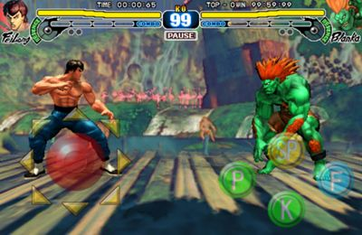 Free Street Fighter 4 download for iPhone, iPad and iPod.