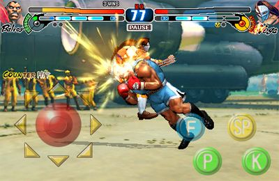 Screenshots of the Street Fighter 4 game for iPhone, iPad or iPod.