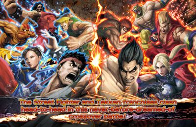 iPhone、iPad および iPod 用のSTREET FIGHTER X TEKKEN MOBILEの無料ダウンロード。