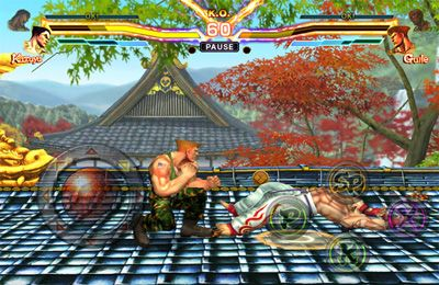 iPhone、iPad 或 iPod 版STREET FIGHTER X TEKKEN MOBILE游戏截图。
