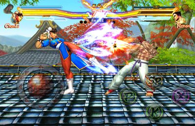 Écrans du jeu STREET FIGHTER X TEKKEN MOBILE pour iPhone, iPad ou iPod.