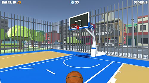 Download Streetball game iPhone free game.