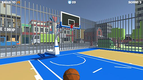 Descarga gratuita de Streetball game para iPhone, iPad y iPod.