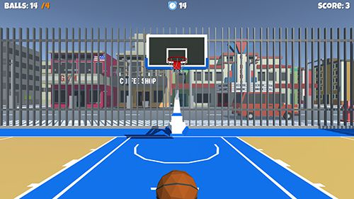 Capturas de pantalla del juego Streetball game para iPhone, iPad o iPod.