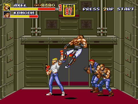 Download Streets of rage 2 iPhone free game.