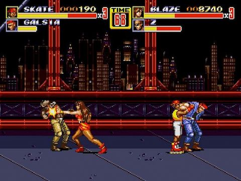 Free Streets of rage 2 download for iPhone, iPad and iPod.