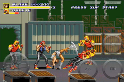 Descarga gratuita de Streets of Rage 3 para iPhone, iPad y iPod.