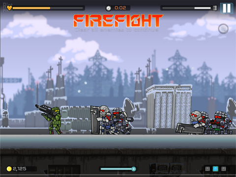 Скачать Strike force heroes: Extraction на iPhone бесплатно