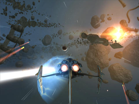 Screenshots of the Strike Wing: Raptor Rising game for iPhone, iPad or iPod.