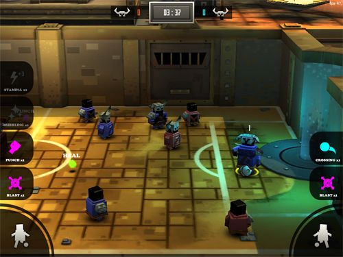 Download Striker arena iPhone free game.